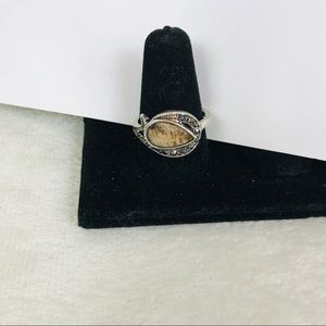Jewelry - New Natural Abalone Shell Ring